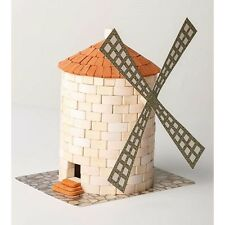 Wise Elk Windmill construction toy, real plaster bricks, gypsum Windmill 430 pcs