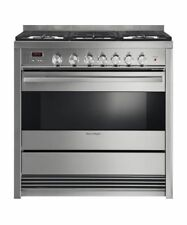 "NEW OUT OF BOX FISHER PAYKEL FREESTANDING 36"" GAS RANGE STAINLESS STEEL"