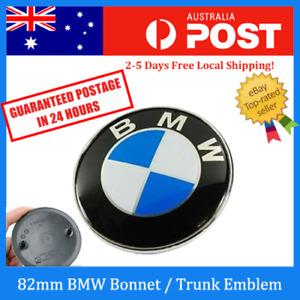 Replacement 82mm Badge Boot Trunk Bonnet Hood Emblem BMW E38 E39 E46 E60 E90 X5