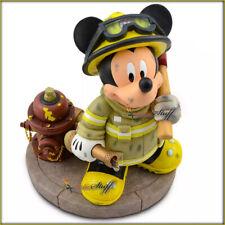 DISNEY PARKS MICKEY MOUSE FIREMAN FIGURINE Walt Disney World Resort Disneyland