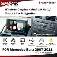 SP WIRELESS CARPLAY ANDROID AUTO MIRROR INTEGRADE FOR MERCEDES NTG 4.0 2007-2011