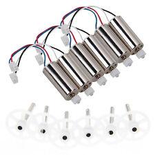6pcs Gear + 6pcs Motors cw/ccw Set Spare Parts For MJX X600 Quadcopter Drone Hot