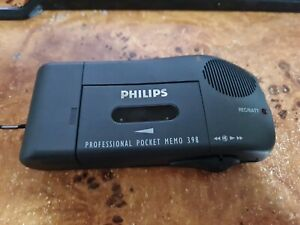 Philips Pocket Memo 398 Handheld Cassette Voice Recorder