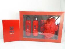 rue21 Rue 21 CJ RED Cologne Spray Fragrance + Gift set lotion lip balm wash gel