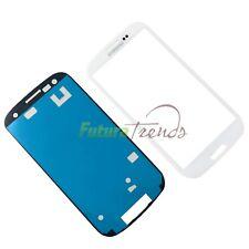 Samsung Galaxy S3 i9300 i9305 LCD Display Glas Ersatz Weiß + Front Klebfolie