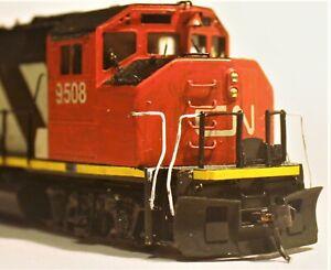 HO scale Frew & Gordon  CN GP40-2 Brass locomotive #9508