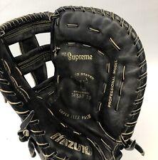 Mizuno Supreme MZS-F30 Black Leather Baseball Softball First Base Glove Mitt RHT
