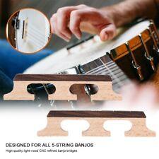 5-String Banjo Needs Rosewood Maple Banjo Bridge Wooden Design Accessories 2Pcs