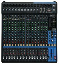 Yamaha Mg20Xu 20-Input 6-Bus Mixer w/Compression, Effects, Usb, and Rack Kit