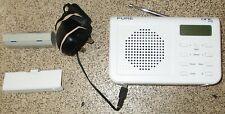 PURE ONE Mi Palm-sized White Portable DAB/FM Radio
