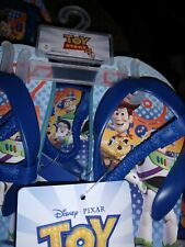 Disney toy story Toddler Flip Flop Sandals - Multi-Colored size M
