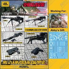 for MG 1/100 Gundam Dynames Jaoparts Metal Details Parts Set Tool-Free Glue-ONLY