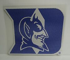 6-Inch Duke Blue Devils Logo Perforated Vinyl Window Graphic