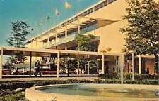 Long Island New York Aqueduct Big A Street View Vintage Postcard K44116