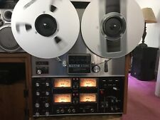 PLEASE READ! TEAC A-3340 4 TRACK QUAD 10.5 INCH REEL TO REEL TAPE DECK RECORDER