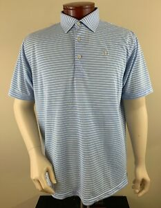 PETER MILLAR Men's Summer Comfort Oakmont Country Club Golf Polo Shirt Size L