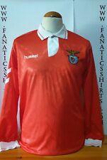 S.L. Benfica 1992-1993 Camiseta Futbol Hummel Shirt Trikot Maglia Jersey