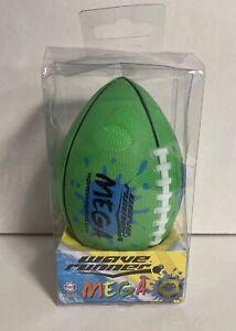 NEW in Box - Wave Runner Mega Sports Edition Green Football #WR800B-FBL