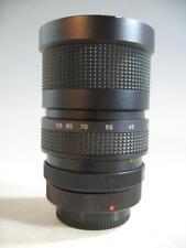 Vivitar 35-105MM f3.5 Close-Up Focusing Zoom Lens W/Canon FD Mount/Rear Cap 44