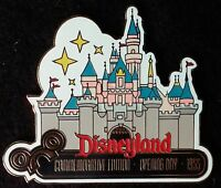 2000 DISNEYLAND SLEEPING BEAUTY'S CASTLE OPENING DAY 1955 LE DISNEY PIN FROM WDW