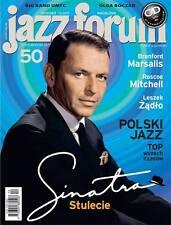 FRANK SINATRA on front cover Polish Magazine JAZZ FORUM, December 2015, 12/2015