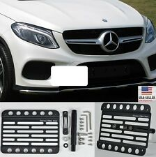 2016-Up Benz GLE SUV ONLY GLE63 & S AMG (w/PDC) Tow Hook License Plate Mount