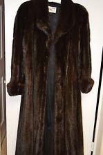 Final Sale!Full length mink fur coat. great condition, sz L