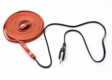 2m Heating Cable 220v Frost Protection Heater Water Pipe Faucet Aquarium