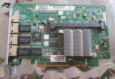 Quad port GigaBit ethernet 1000 mbit/s pci-e 4x HP NC375I 468001-001 491838-001