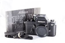 Reflex Nikon F2A Photomic Noir