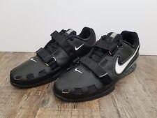 Nike Romaleos 2 Weightlifting Powerlifting Shoes Black Gray Sz 15 476927-001