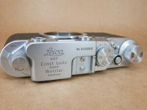Leitz Leica IIf Red Dial Body 1953