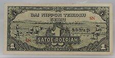 Nederlands Indie  Netherlands Indies 1 Roepiah 1944 Dai Nippon Teikoku Seihu