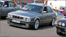 BMW E34 WIDE IS V8 front bumper spoiler chin lip addon valance trim M5 splitter
