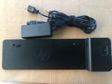 New listing Hp 2013 Ultraslim Docking Station w/65w Power Adapter