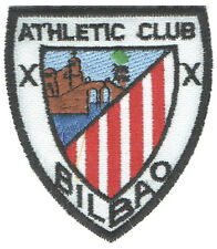 PARCHE bordado en tela ESCUDO ATHLETIC CLUB BILBAO, EMBROIDERED PATCH, TUNAS