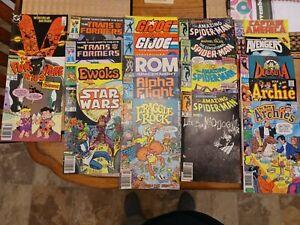 Lot of 20 various comic books Avengers, GI Joe, Star Wars more