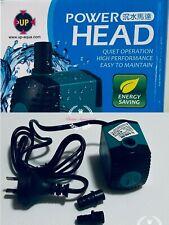 Up-aqua Power Head 450L/H 6W 36-60cm Aquarium Tank Water Pump Fully Submersible