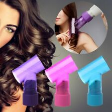 Magic Wind Spin Women Hair Curl Hairdryer Diffuser Salon Styling Hair Tools NEW