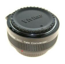 VIVITAR 2 X TELE CONVERTER MC N / AI -S FOR NIKON SLR CAMERAS 0247351 NEW