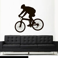 Wall Vinyl Sticker Bedroom Decal Modern Decal Cycle BMX Bike Bicycle (Z2618)