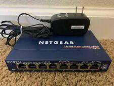 Netgear ProSafe 8 Port Gigabit Switch GS108 v3