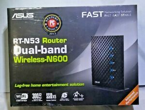 ASUS RT-N53 300 Mbps 4-Port 10/100 Wireless N Router new