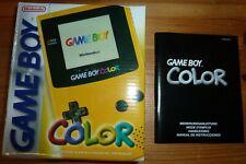 Nintendo Game Boy Color Gelb Handheld-Spielkonsole Sehr guter Zustand OVP