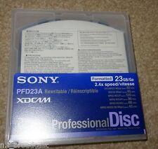 Sony PFD23A NUOVO 23 GB XDCAM DISCHI per SD/HD TELECAMERE XDCAM/registratori