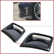 For 08-12 Subaru STI WRX GRB Wagon 5DooR Carbon Fiber Front Side Vent Cover Pair