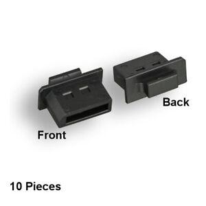 Kentek Lot of 10Pc DisplayPort Dust Cover Port Protector Anti-Dust for DP socket