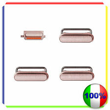 3 IN 1 TASTI ACCENSIONE VOLUME SILENZIOSO ORO ROSA PER IPHONE 6S PLUS 5,5""