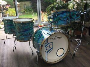 5 Piece SONOR Modular Custom Drum Kit