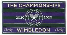 NEW RARE WIMBLEDON MENS TENNIS CHAMPIONSHIP OFFICIAL BATH TOWEL 2020 IN BAG